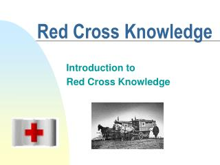 Red Cross Knowledge