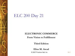 ELC 200 Day 21