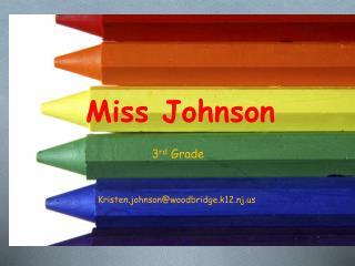 Miss Johnson