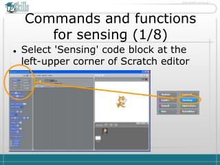 Commands and functions for sensing ( 1 / 8 )