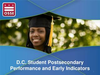 D.C. Student Postsecondary Performance and Early Indicators
