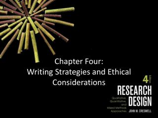 Chapter Four: Writing Strategies and Ethical Considerations