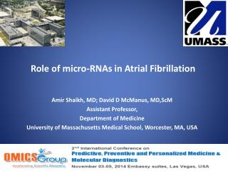 Role of micro-RNAs in Atrial Fibrillation