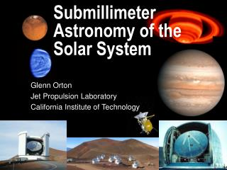 Submillimeter Astronomy of the Solar System