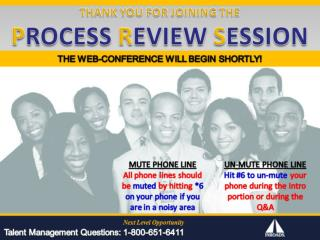 INROADS Process Review Session 2011 12 Presentation PNW & PSW