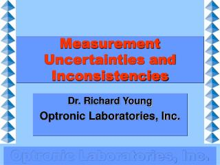 Measurement Uncertainties and Inconsistencies