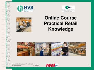 Online Course Practical Retail Knowledge