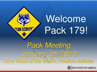 Welcome Pack 179!