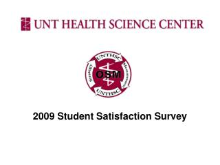 2009 Student Satisfaction Survey