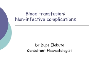 ABO incompatible red cell transfusions: incidence, consequences, management, and prevention