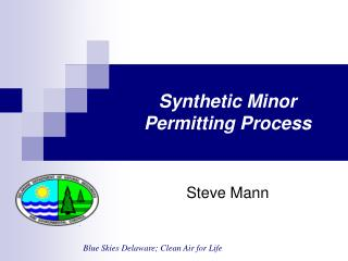 Synthetic Minor Permitting Process