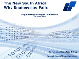 The New South Africa Why Engineering Fails