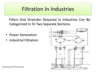 filtration in industries