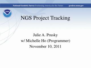 NGS Project Tracking