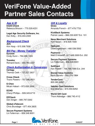 Age & ID Intelli-Check Rebecca Brisson – 770.529.4231 Legal Age Security Software, Inc .