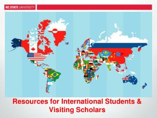 Resources for International Students & Visiting Scholars