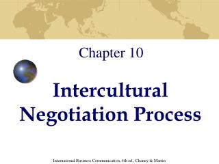 Intercultural Negotiation Process