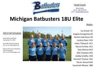 Michigan  Batbusters  18U Elite