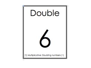 Multiplication doubling