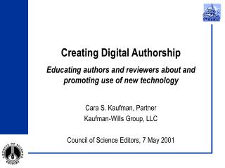 Creating Digital Authorship