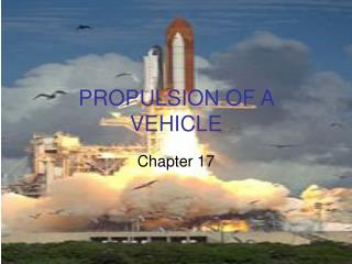 PROPULSION OF A VEHICLE
