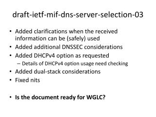 draft-ietf-mif-dns-server-selection-03