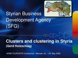 Styrian Business Development Agency (SFG)
