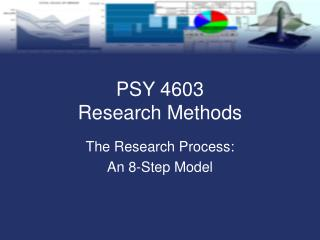 PSY 4603  Research Methods