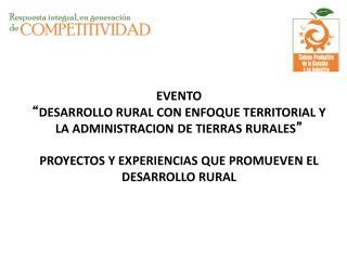 ORGANIZACIONES DE CADENAS (LEY 811/03)  Y  CONSTRUCCION DE TERRITORIO