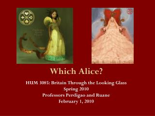 Which Alice?