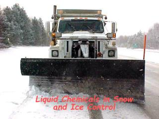 Liquid Chemicals in Snow and Ice Control