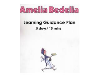 Learning Guidance Plan
