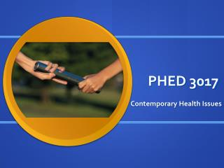 PHED 3017