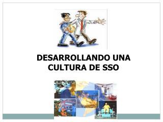 DESARROLLANDO UNA CULTURA DE SSO
