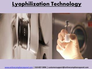Lyophilization Technology