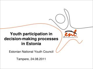 Main forms of youth participation