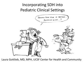 Incorporating SDH into  Pediatric Clinical Settings