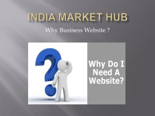 Why Business Website | Web Builders Chandigarh