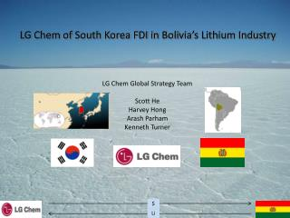 LG Chem of South Korea FDI in Bolivia's Lithium Industry