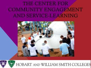 The Center for Community Engagement and Service-Learning