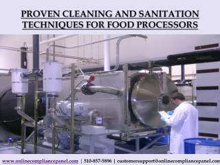 Proven Cleaning and Sanitation Techniques for Food Processor