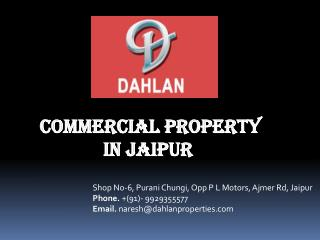 Commercial Property In Jaipur
