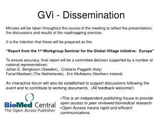 GVi - Dissemination