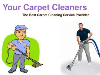 Your Carpet Cleaners -  The Best Carpet Cleaning Service Pro
