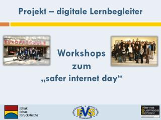 "Workshops zum ""safer internet day """
