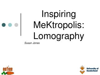 Inspiring MeKtropolis: Lomography
