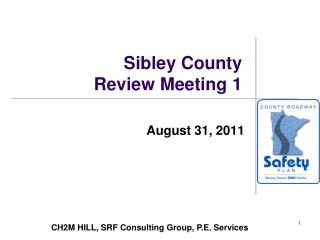 Sibley County Review Meeting 1