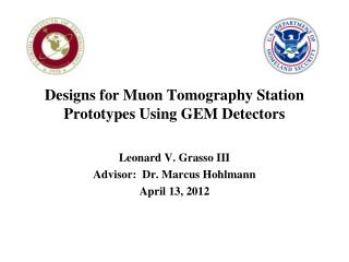 Designs for Muon Tomography Station Prototypes Using GEM Detectors