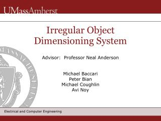 Irregular Object Dimensioning System