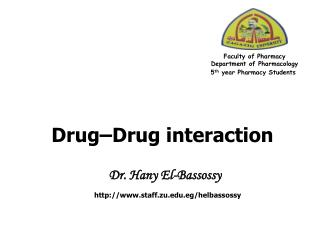 Drug–Drug interaction